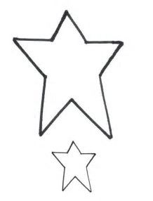 Image result for free pattern Primitive Star Printable