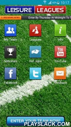 Leisure Leagues  Android App - playslack.com , Leisure Leagues are the largest provider of 5 and 6 a side football in Europe.Our brand new App allows you to keep up to date with all the latest fixtures, results and tables from your leagueIf you want to talk to us on Twitter, follow us on Facebook or enter the National 6 a side Championships then the 5 a side Leisure Leagues App can allow you to do that right now!On the best app in 5 a side you can also find all the venues for our leagues and…