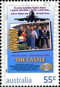 Sello: Castle (Australia) (Films) Mi:AU 3122,Sn:AU 2998,Yt:AU 2996,Sg:AU 3102