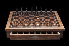 British gunsmith Holland & Holland is expanding its lifestyle offerings beyond hunting apparel and accessories to appeal to a different gaming interest. Indeed,Holland & Holland in collaboration with The Dalmore Whisky, unveileda bespoke Chess Set. The Board High-polish ebony and gun-stock walnut squares bordered by nickel, ebony, walnut & ebony inlay. Solid
