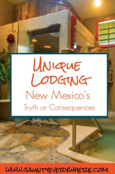 Blackstone Hotsprings Lodging and Baths in Truth or Consequences, New Mexico: An oasis in the Southwest desert. #blackstonehotsprings #truthorconsequences #newmexico #southwest #lodging #hotsprings www.jauntyeverywhere.com #jauntyeverywhere