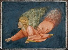 Angel, North Italian Painter, first quarter 14th century from Mantua.