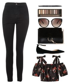 """""""If the sky falls I'll catch it just to steal you a star....."""" by may-boo ❤ liked on Polyvore featuring Rebecca Taylor, Jimmy Choo, Topshop, Moda Luxe, Oscar de la Renta, Urban Decay and Bobbi Brown Cosmetics"""