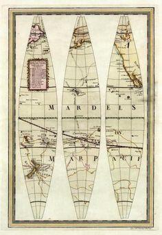 Globo Terrestre Ii, 1792 by Giovanni Maria Cassini