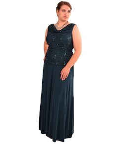 Nightway 7859W Womens Shirred Full Skirt Gown $94