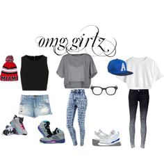 """""""omg girlz"""" by mariahmarie2003 on Polyvore  cheap air jordan 5 only $59.59, save up to 61% off"""