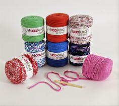 Patrón para hacer unas cestas de ganchillo XL con Hoooked Zpagetti