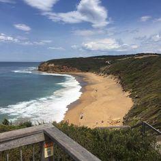 Bells beach #greatoceanroad #bellsbeach #surfbeach #sand #beachlife #Melbourne #victoria #australia #lauratheexplorer by laura_the_explorer2