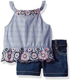 2fa273c77a35a Baby Denim Shorts Online   Buy Denim Shorts for Boys   Girls. Little Girl  FashionLittle Girl DressesGirls ...