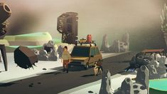 Overland's apocalypse could be a little more welcoming Turn Based Strategy, Friends Font, Loyal Dogs, Strategy Games, New City, End Of The World, Where To Go, Apocalypse, Xbox One