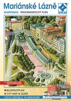 Panoramatický a obrazový průvodce po Mariánských Lázních.