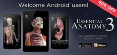 Calling all Android & Window Lovers! Our Essential Anatomy 3 App is Available on Special Offer - 60% off - http://applications.3d4medical.com/essential_anatomy_3/