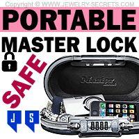 ►► PORTABLE MASTER LOCK JEWELRY SAFE ►► Jewelry Secrets