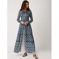 Off White Kora Peshbaan Cotton Dress | Stylista : Salwars ...