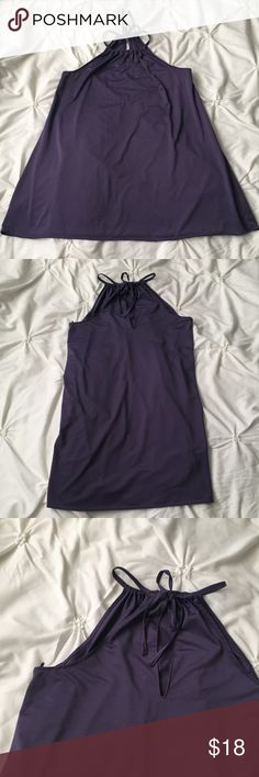 La Senza Purple Keyhole Back Neck Tie Tank La Senza Purple Keyhole Back Neck Tie Tank Size Small  ---- 🚭 All items are from a non-smoking home. 👆🏻Item is as described, feel free to ask questions. 📦 I am a fast shipper with excellent ratings. 👗I love bundles & bundle discounts. Feel free to make an offer! 😍 Like this item? Check out the rest of my closet! 💖 Thanks for looking! La Senza Tops Tank Tops