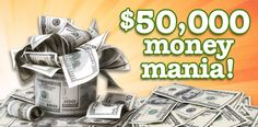 $50,000 Money Mania! - Enter to Win Sweepstakes at American Family! See Official Rules for Details.