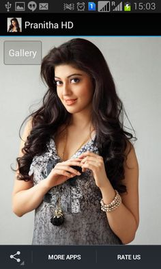 Pranitha Subhash HD Application is collection of photo gallery.<p>Pranitha Subhash is an Indian actress who appears in South Indian language films.<p>App Feauters<br>HD image gallery of the actress<br>New unique & superb quality Images added Periodically<br>This App automatically Saved Pictures to ( /Android/data/package name/Cache ),You Can Use This Pictures For Local Gallery & Set As Wallpaper.<br>App works in offline and Online mode<br>Offline browsing using photo cache <br>Action Bar…
