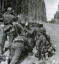 SS-Totenkopf en Rusia.