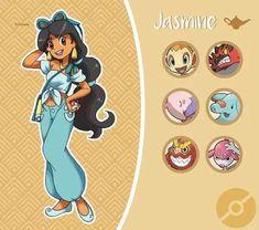 Et si les princesses Disney se retrouvaient dans le prochain RPG Pokemon ? Lol J… What if the Disney princesses ended up in the next Pokemon RPG? Disney Marvel, Disney Pixar, Disney Fan Art, Disney And Dreamworks, Disney Magic, Disney Movies, Walt Disney, Disney Characters, Disney Jasmine
