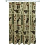 Bacova Guild Big Country Shower Curtain, Cream