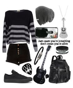 """Untitled #131"" by musiclover135 ❤ liked on Polyvore featuring River Island, Murbes, AmeriLeather, Coal, Converse and Tiffany & Co."