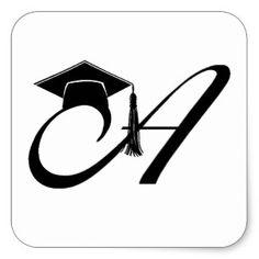 A Graduation Cap Square Sticker Graduation Images, Graduation Templates, Graduation Stickers, Graduation Party Decor, Graduation Flowers Bouquet, Ramadan Cards, Aqua Wallpaper, Mickey Mouse Wallpaper, Prom Decor