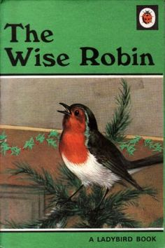 THE WISE ROBIN a Vintage Ladybird Book Animal Stories Series 497 I have an older version of this that was my mums so 1950's possibly has a brown card cover with a small picture