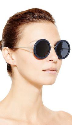 Men/'s pour femme Forme Ronde Flip Up Lunettes de soleil Django Clear Green lentilles Gold Frame