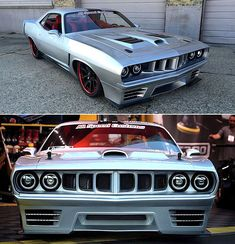 "Here's a fire-breathing 1971 Plymouth Barracuda street machine with a VIPER V10 under the hood nicknamed ""Medusa"", the car no Mopar fan is able to resist"