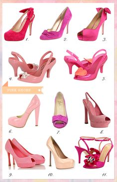 pink #wedding shoes