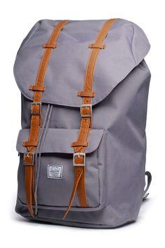 Gray Herschel bag