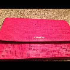NET COACH CROSSBODY Brand new hot pink coach cross body bag Coach Bags