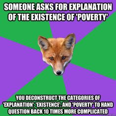 Anthropology Major Fox. Explanations