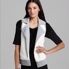 Splendid Reversible Vest Top Worn once! The gray side has side pockets. Open to offers Splendid Jackets & Coats Vests