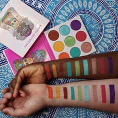 """10.9k Likes, 138 Comments - Juvia's Place (@juviasplace) on Instagram: """"Isn't @fumidesaluvold hubby the nicest.. Thank you so much Swatches of the Zulu Palette ・・・ Z…"""""""