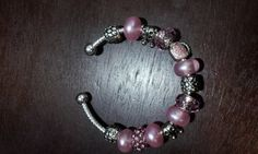 Pretty In Pink UShaped European Charm Bracelet by DopeHause, $20.00