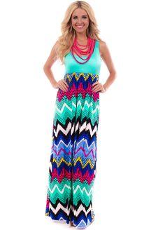 Lime Lush Boutique - Mint Multi Print Tank Maxi Dress , $64.99 (http://www.limelush.com/mint-multi-print-tank-maxi-dress/)