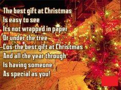 Short Christmas poem for kids