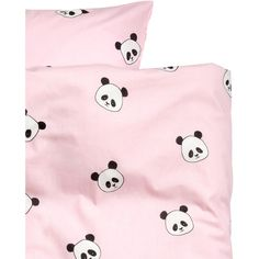 Animal-print Duvet Cover Set $24.99 ($25) ❤ liked on Polyvore featuring home, bed & bath, bedding, duvet covers, soft pink bedding, patterned pillowcases, light pink bedding, pale pink bedding and pink baby bedding