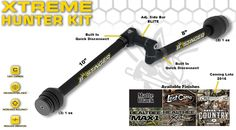 Bee Stinger Xtreme Kit - Bee Stinger Stabilizers