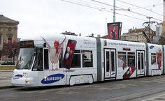 Tramway Geneva Switzerland  2011