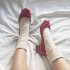 Pretty Shoes, Cute Shoes, Sock Shoes, Me Too Shoes, Shoes Heels, Aesthetic Shoes, Red Aesthetic, Aesthetic Clothes, Fashion Shoes