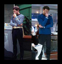 Dr. McCoy - Star Trek I think Karl Urban nailed it :)