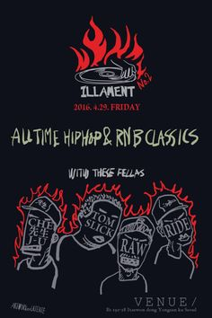 This Friday it's going down at your favorite spot in Itaewon for good music, decent drinks and great atmosphere to meet new people. ILLament Volume 2 is a series of parties for everyone and anyone with a heavy focus on classics in hip hop and rnb.   https://m.facebook.com/events/224345094600892/?active_tab=posts