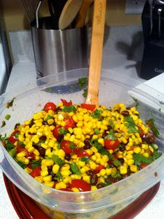 Hem and Her: Black Bean and Corn Salsa