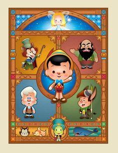 Pinocchio - WonderGround Gallery by Jerrod Maruyama, via Flickr