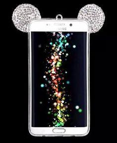 Vandot Housse Mickey Oreilles Mouse Ears Coque pour Samsung Galaxy S6 / TPU Souple Bumper Design Soft Cover Girl Lady Etui Housse Case avec…