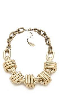 Adia kibur Thick Statement Necklace on shopstyle.com