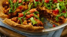 Taco Pie With Pie Crust Is Seriously Quick And Tasty | The WHOot