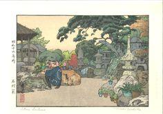 Yoshida Toshi - Ishi Doro ( Stone Lanterns)